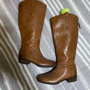Sam Edelman penny riding boots wide calf